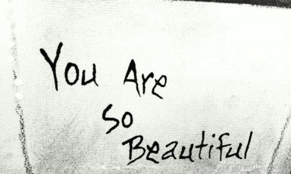 You Are So Beautiful Image-ybe2087DC060
