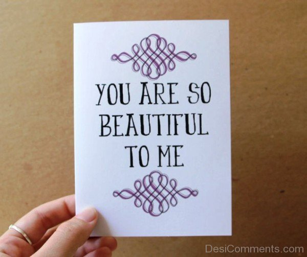 You Are So Beautiful To Me Image-ybe2088DC046