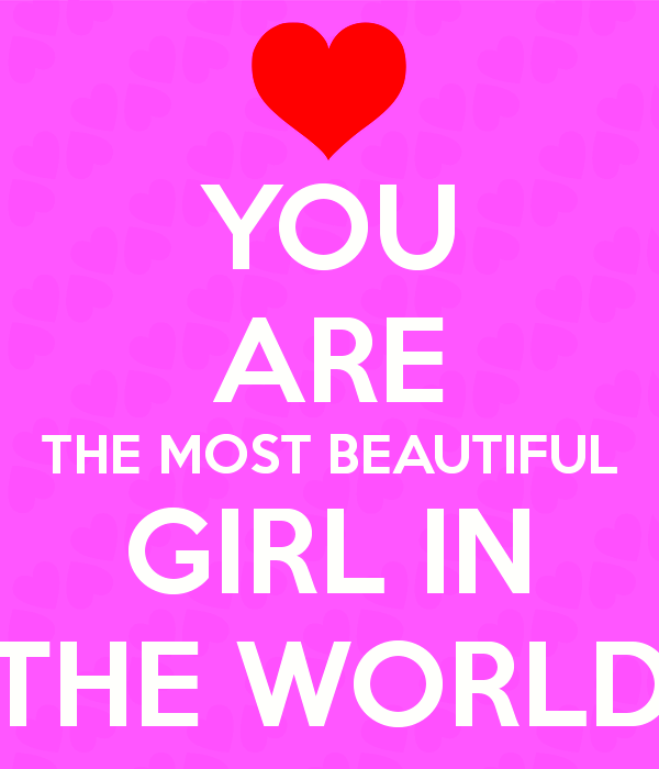 You Are The Most Beautiful Girl In The World-ybe2093DC045