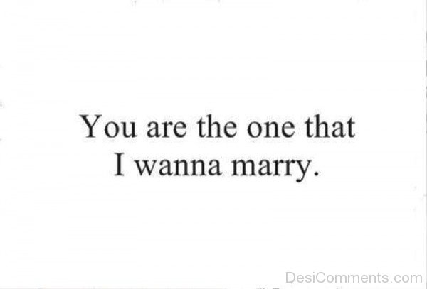 You Are The One That I Wanna Marry-ry623DC01001