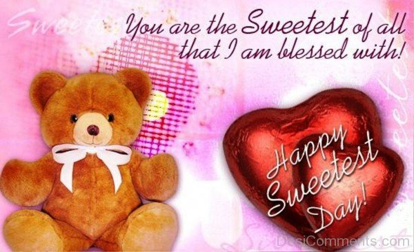 You Are The Sweetest Of All