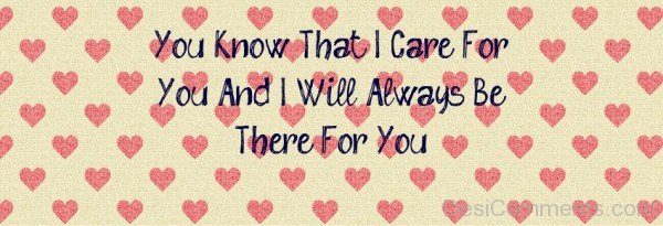 You Know That I Care For You-DC41