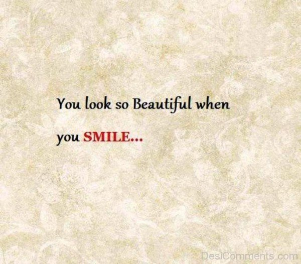 You Look So Beautiful When You Smile-ybe2099DC055