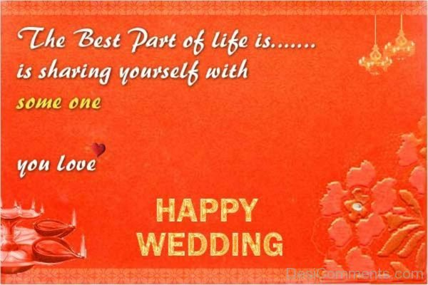 You Love Happy Wedding