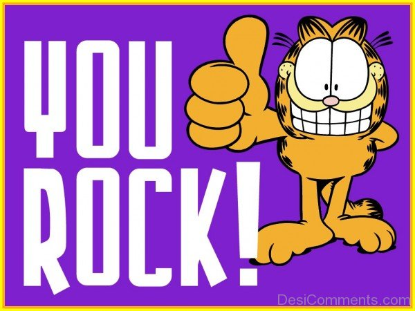 Picture: You Rock – Garfield