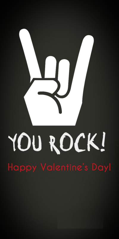 Picture: You Rock – Happy Valentine's Day