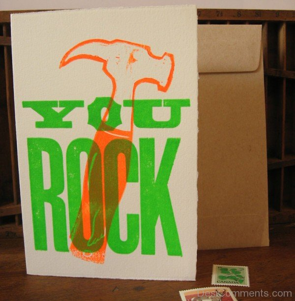 Picture: You Rock In Green Color