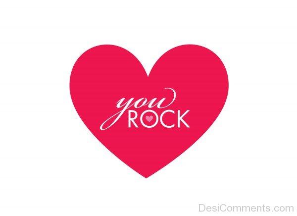Picture: You Rock On Heart