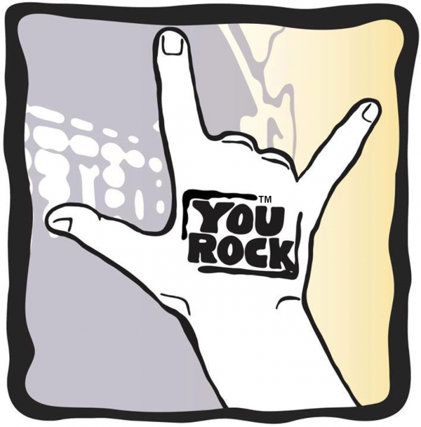 You Rock On hand