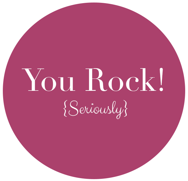 You Rock - Seriously