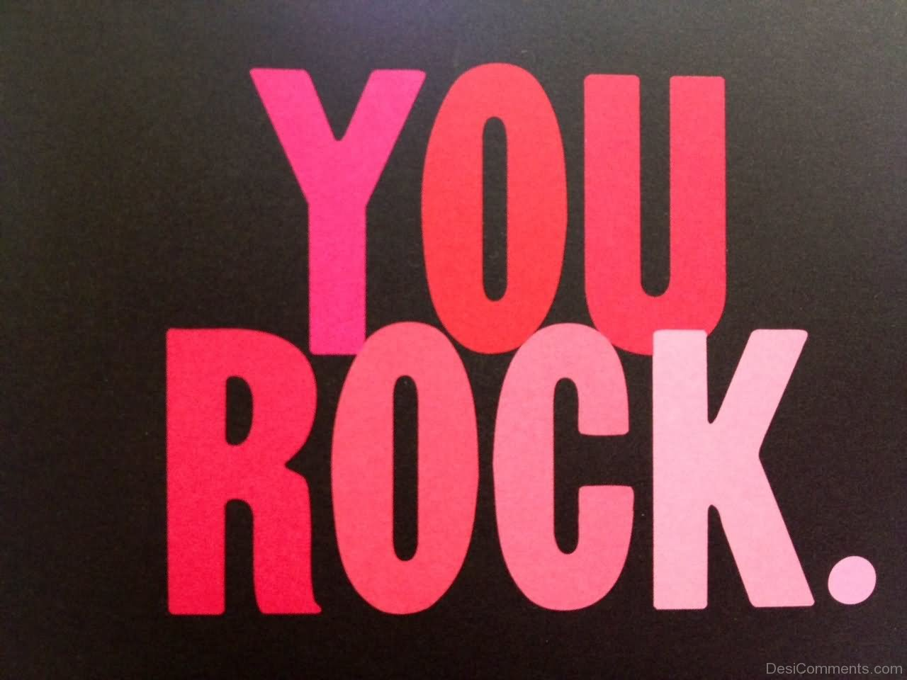 You Rock Picture...You Rock Clipart