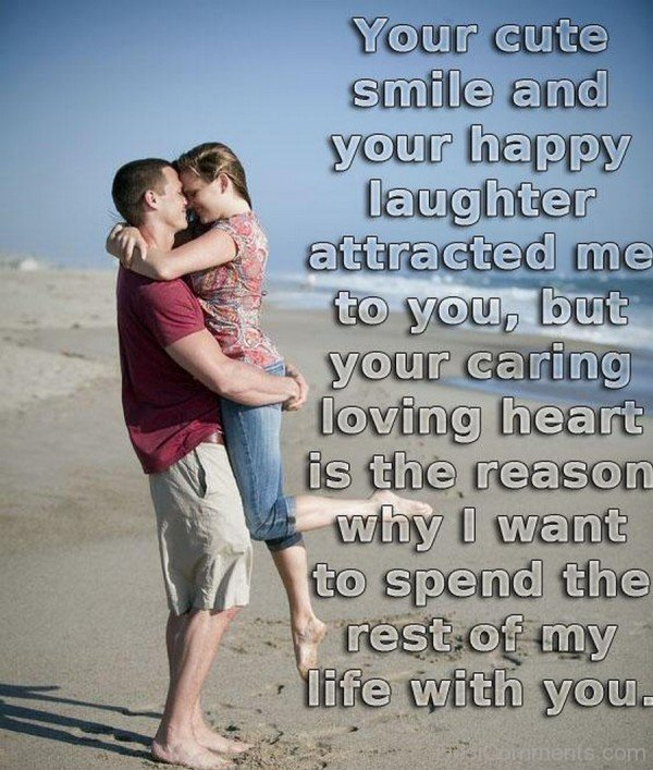 Your Cute Smile And Your Happy Laughter Attracted-iyt445DC42