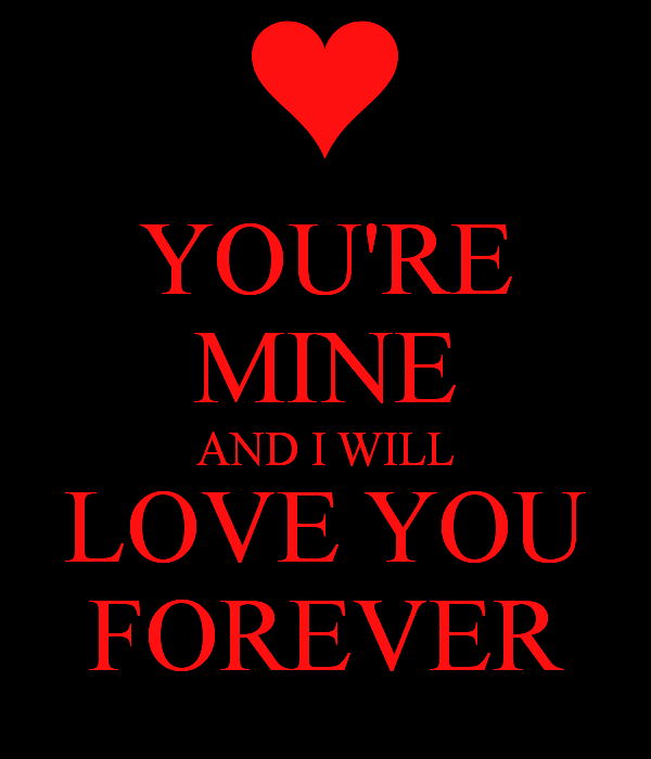 You're Mine And I Will Love You Forever-cx227DEsi05