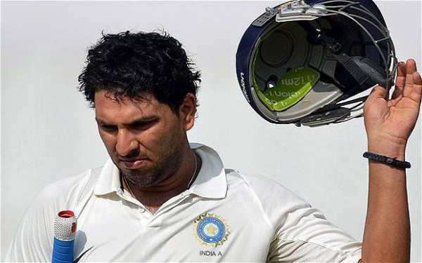 Yuvraj Singh In Sad mood