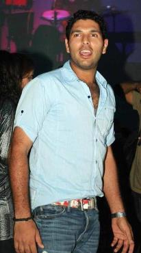 Yuvraj Singh Looking Smart