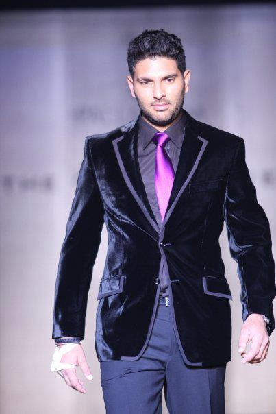 Yuvraj Singh Looking Handsome