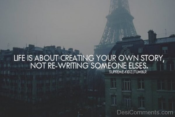 Creating your own story-DC07